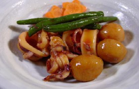 イカと里芋の煮物~イカの味が里芋にしみ込んで~