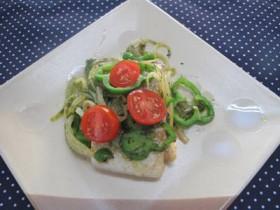 フライパン1つで出来る太刀魚(たちうお)ナポリターナ~簡単&ヘルシー~