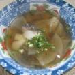 タラと大根のおつゆ~冬が旬のタラを醤油味で体を温かく~