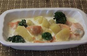 鮭とさつまいものクリーム煮~寒い日には体が温まる料理を~