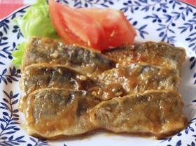 アジのムニエル 梅風味 ~魚嫌いでも梅風味で食べやすく~