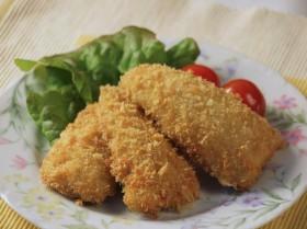 アジのフライ チーズ風味 ~魚嫌いでもチーズの風味で食べやすく~